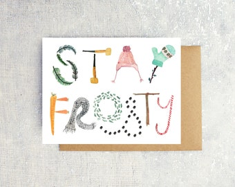 Stay Frosty: Single Card