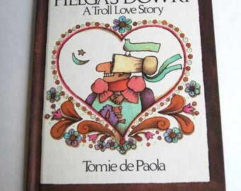 Vintage Children's Book, Helga's Dowry A Troll Love Story