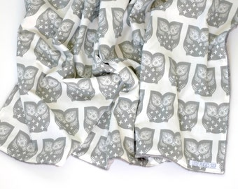 Minky Baby Blanket Minky Blanket Baby Blankets Baby Blanket Minky Receiving Blanket Baby Blankets Handmade Girl Minky Baby Blanket Boy Owl