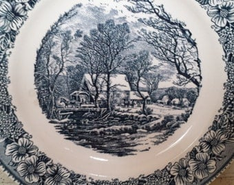 Currier and Ives Plate - 10 Inch
