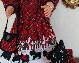 Doll's Chrismas Outfit