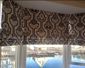 custom curtains roman shades you provide the fabric of your choice blackout roman - Blackout Roman Shades