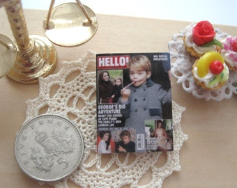 dollhouse prince george  magazine 12th scale miniature