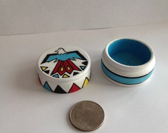 Unique Native American style Engagement Ring Box