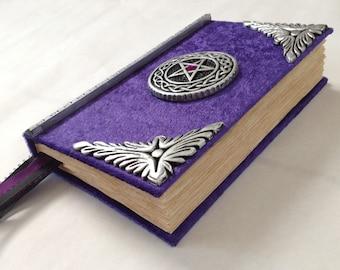 Handmade Book of shadows blank spell book / journal / Diary....cert#230