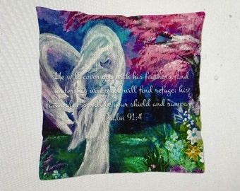 The Lullaby Angel Pillow
