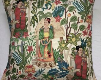 Frida kahlo floor cushion cover