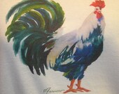Colorful chicken t-shirt