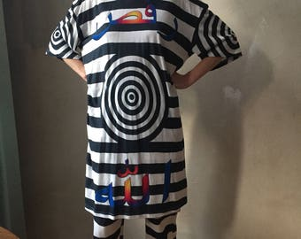 ALLAH DANCE oversize tshirt dress OS