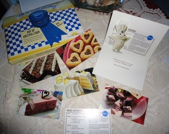 Vintage Pillsbury Pop-Up Recipe All Occasion Greeting Cards