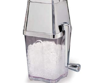 Ice Crusher, Metrokane Retro Ice Crusher, Party Ice, Ice Maker, Snowcone Ice, Margarita Ice Maker, Crushed Ice Maker