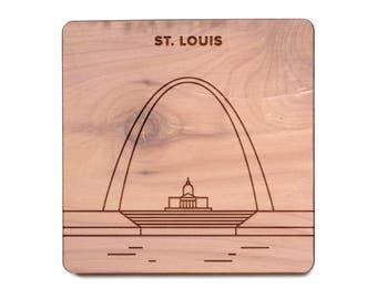 St. Louis Coaster - Gateway Arch