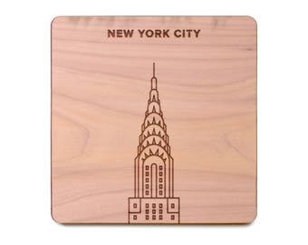 New York City Coaster - Chrysler Building