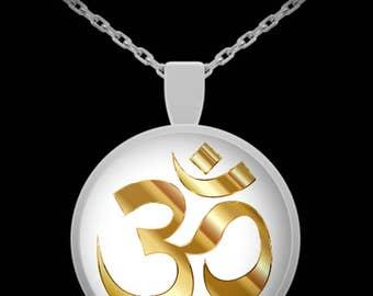 Yoga Om Symbol Necklace