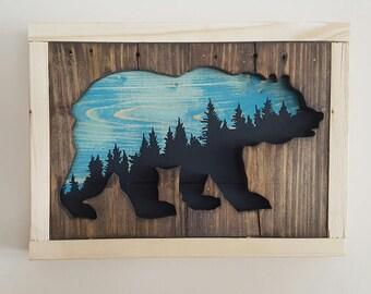 Sitka Skyline Bear reclaimed wood