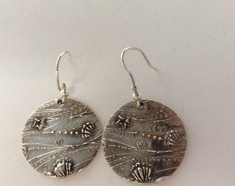 Ocean earrings
