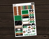 Football Planner Stickers Sticker Sampler Personal Planner Bullet Journal Planner Stickers Planner Stickers Die Cut Stickers SS011