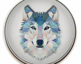 Wolf Snap It SC0001 Noosa Chunk Button Popper Snap Interchangeable 18mm 20mm snap dog breed