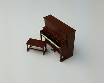 "1/4"" Raudenbush & Sons Upright Piano"