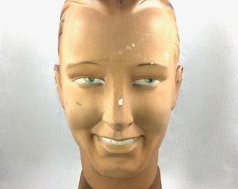 Mannequin Mens Head 1940's Novita Belgium