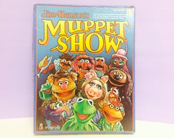 Muppet Show, Colorforms Toy, Muppets Theater, Jim Henson, Muppets Toy, Miss Piggy, Fozzie Bear, Kermit the Frog, Puppets, Muppet Paper Dolls