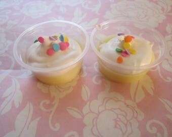 Scented Sweet Scent Shot Cup Wax - Glitter Scented- Scoopable Soy Wax Cup- 2oz