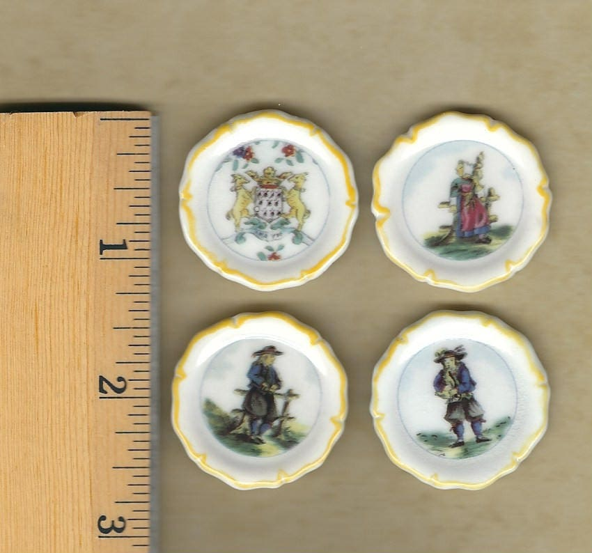 Quimper faience plates french pottery dishes brittany - Gallery cuisine quimper ...