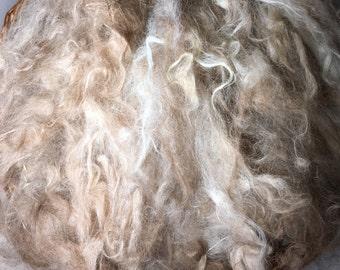 Suri Alpaca clouds-loose fiber/ fleece- Spinning-  Gorgeous and silky soft.