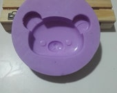 Maxi silicone rubber mold with bear