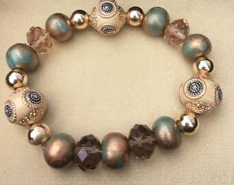Golden Stretch Bracelet