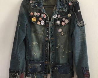Horror Denim Horror jacket by Chad Cherry