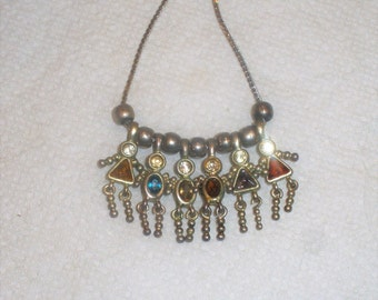 "Vintage Signed ""Monet"" Sibling Necklace / Children Necklace / Family Necklace"