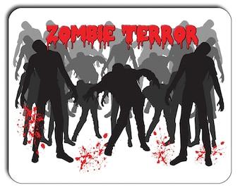 Zombie Terror Mouse Mat, Mouse Pad