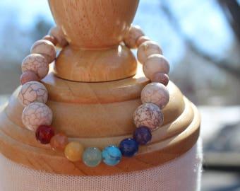 #2 Chakra bracelet, lifestyle, wrist jewelry