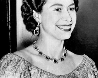 Queen Elizabeth II, Portrait, Queen of England, 1953