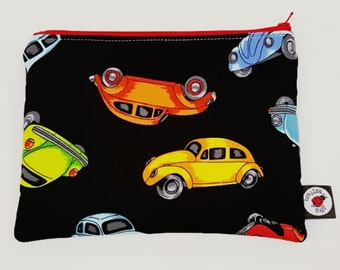Car Pencil, Cosmetic, CSP, Zipped Pouch
