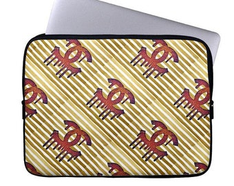 Custom Laptop Sleeve, Laptop Cases, Computer Case, Laptop Sleeve, Laptop Bag with custom Crystahhled Design