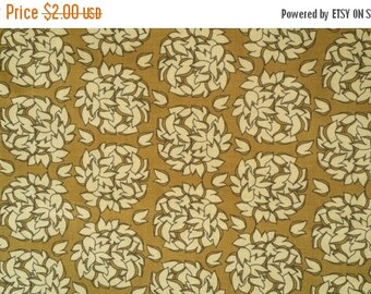 1/2 yard Fionas Fancy Fabric  by Lila Tueller for Riley Blake brown leaves