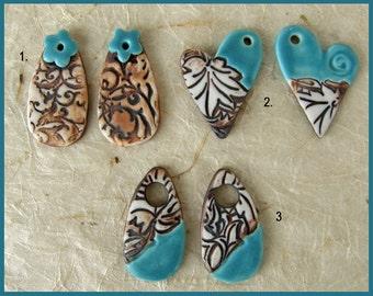Porcelain Turquoise components