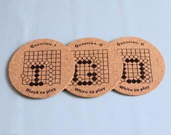 IGO Coasters -Letters-