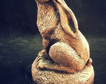 Golden Hare statue