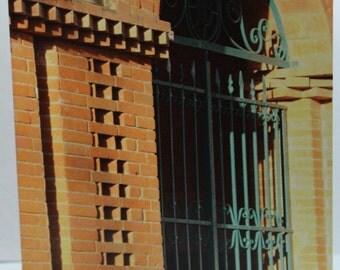 "Bolivian Gate Blank Card 4.25"" x 5.5"" (FREE SHIPPING!)"