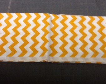 Gold Chevron Fabric by the yard