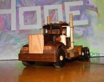 Wood Semi Truck #32