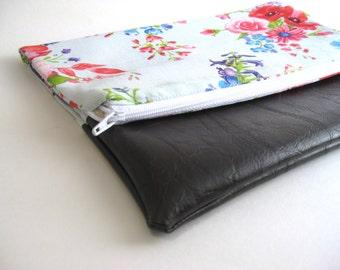 Fold Over Clutch | Clutch Wallet | Clutch Handbag | Foldover Bag| Bridesmaid Gift|Floral
