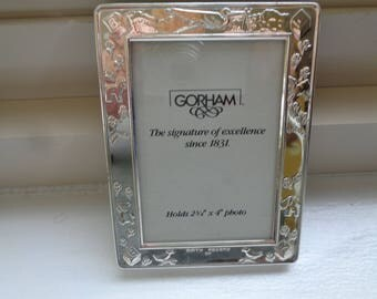 Gorham Silver Baby Photo Frame