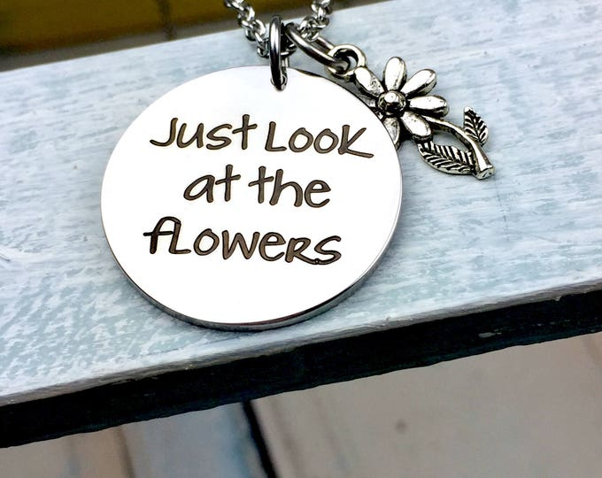 Just look at the flowers, carol, the walking dead jewelry, lizzie, daryl dixon, zombies, apocalypse, walkers, rick grimes, maggie