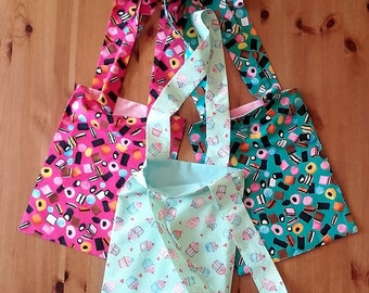 Easter Egg Treat Sweet Candy themed Tote Bags - Fully lined and reversible, you choose your fabrics