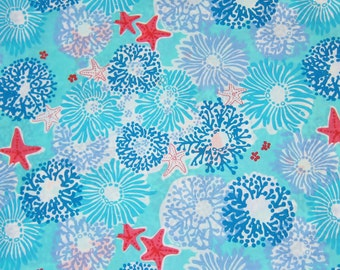 "11"" x 24"" Lilly Pulitzer Fabric Star Sighting"