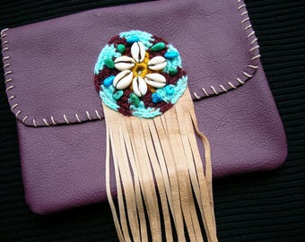 Lovely Handmade HIP BAG leather All recycled materials